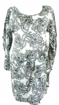 Paisley Tunika Hippie chic - olive