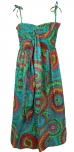Kinder Kleid Hippie Goa - t�rkis