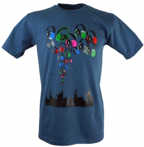 Fun T-Shirt `Music City`