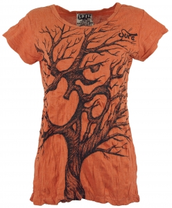 Sure T-Shirt Om Tree - rostorange